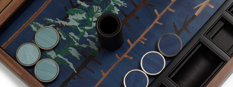 About Alexandra Llewellyn Hero Tom Hammick Backgammon Board Collaboration