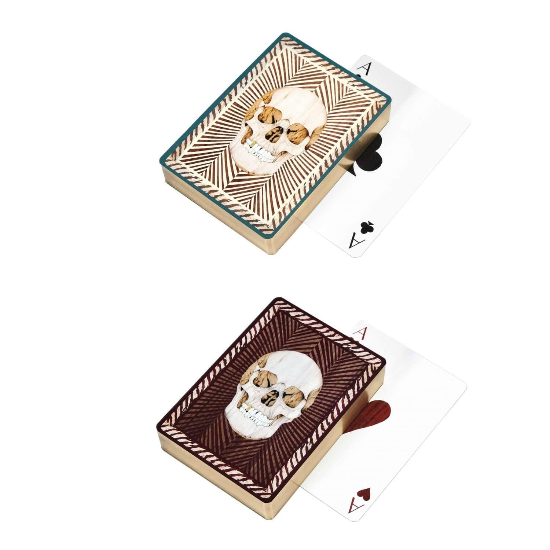 Alexandra Llewellyn Skull Playing Cards 1