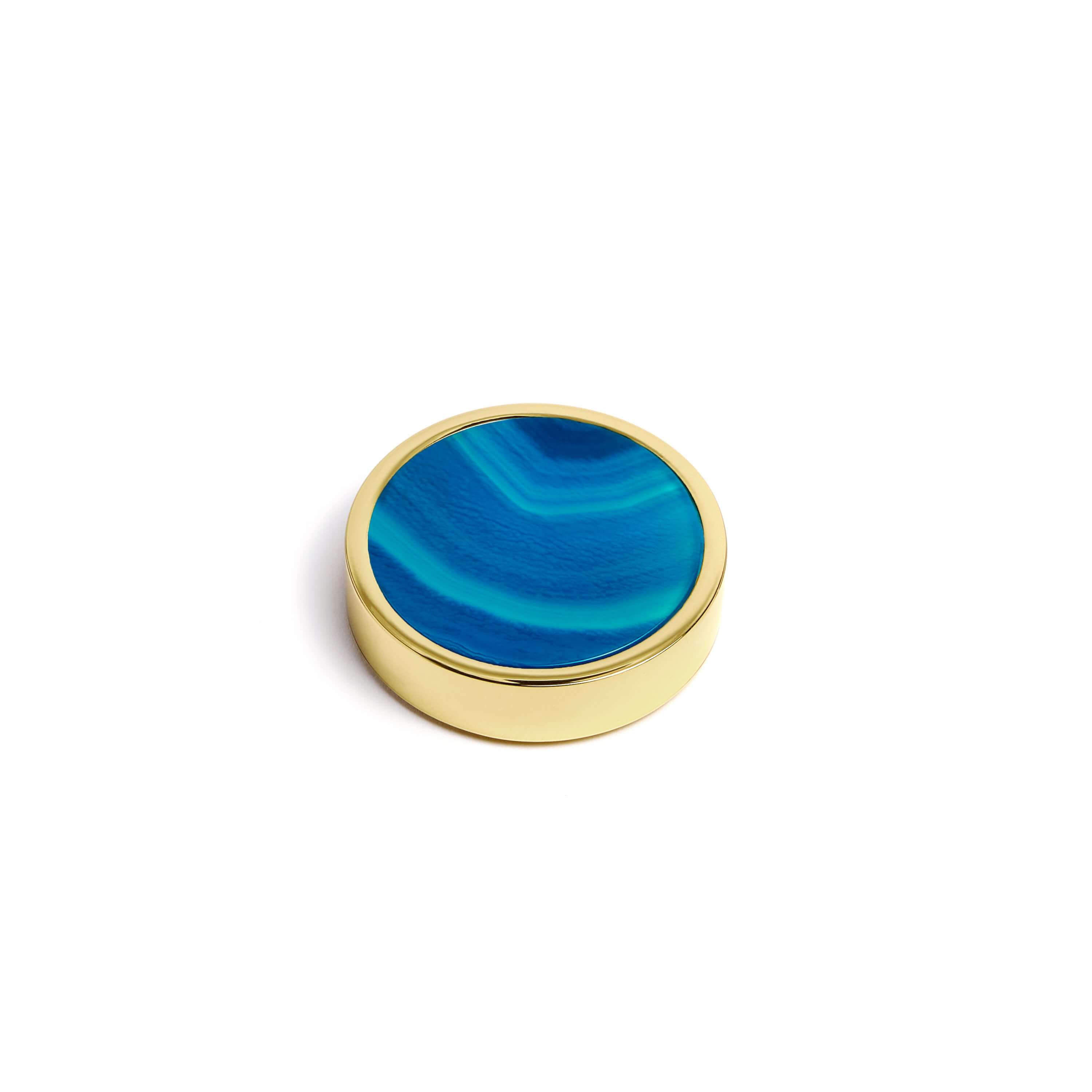 Playing Pieces Agate Blue